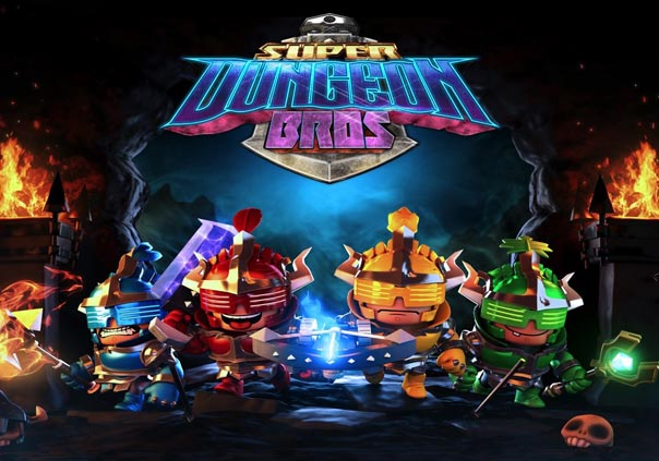 Super Dungeon Bros Gamer Banner