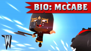World of Warriors Bio: McCabe Video Thumbnail