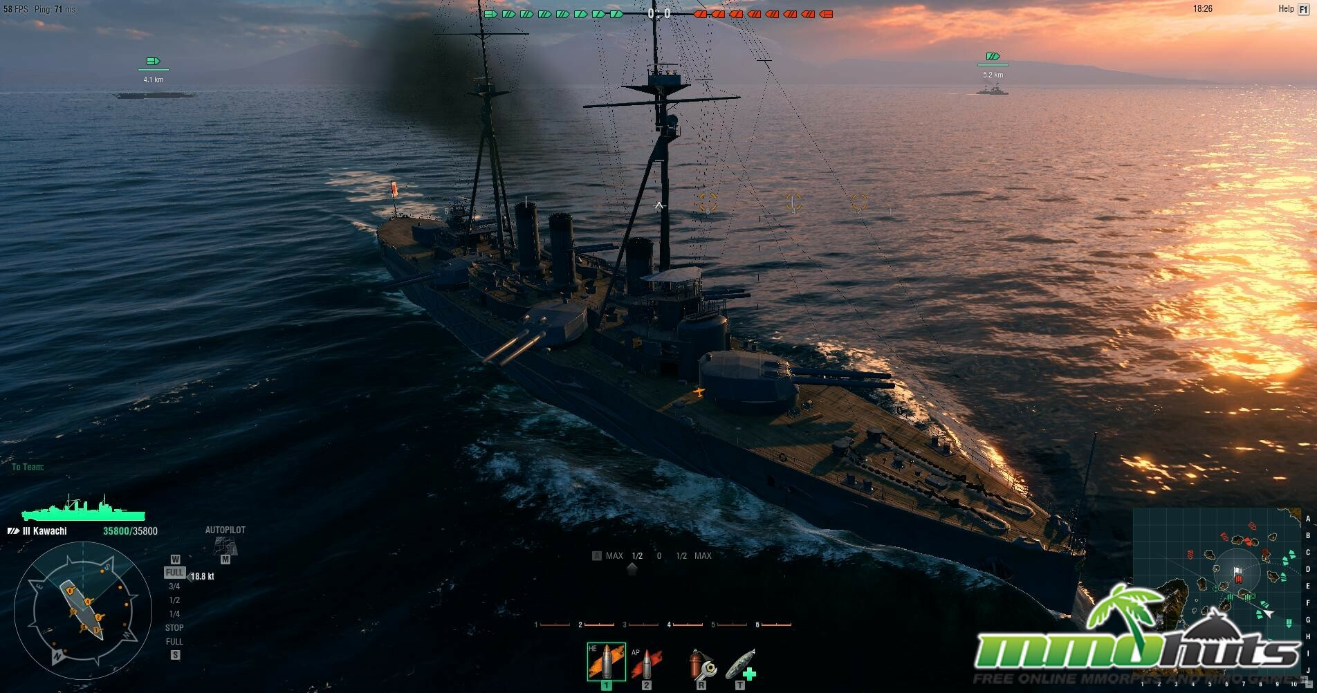 World of Warships Closed Beta Impressions
