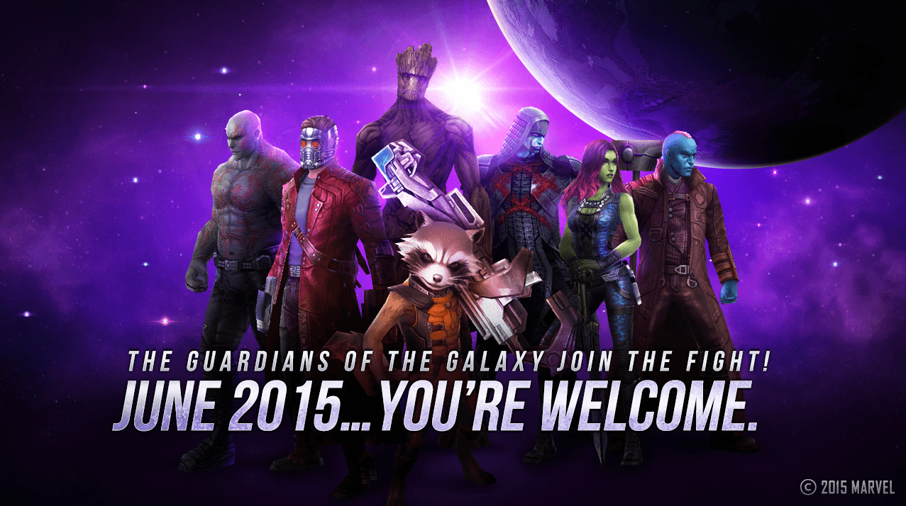 Netmarble Unveils Guardians of the Galaxy Update for Marvel Future Fight news header