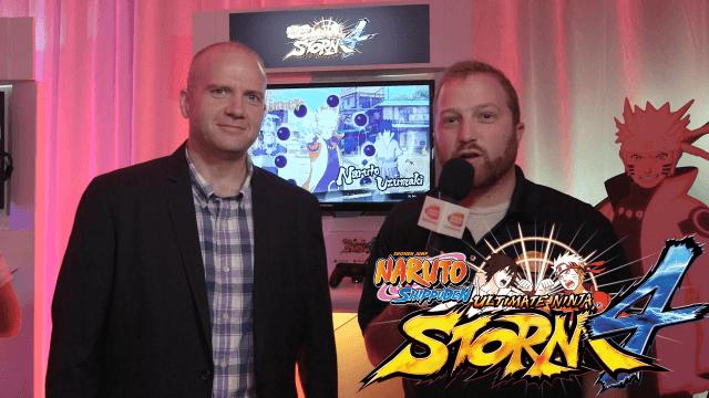 Naruto Shippuden: Ultimate Ninja Storm 4 - E3 2015 Interview video thumbnail