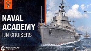 World of Warships Naval Academy - IJN Cruisers Video Thumbnail