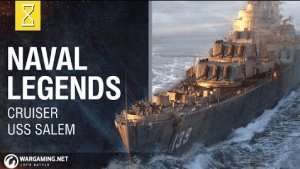 World of Warships Naval Legends - USS Salem Video Thumbnail