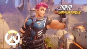 Overwatch: Zarya Gameplay Preview video thumbnail