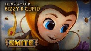 SMITE Bizzy B Cupid Skin Preview video thumbnail