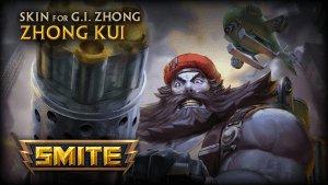 SMITE: G.I. Zhong (Zhong Kui Skin) Preview