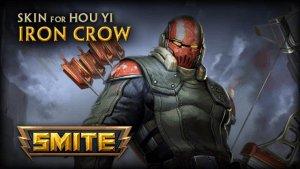 SMITE: Iron Crow Hou Yi Skin Preview video thumbnail