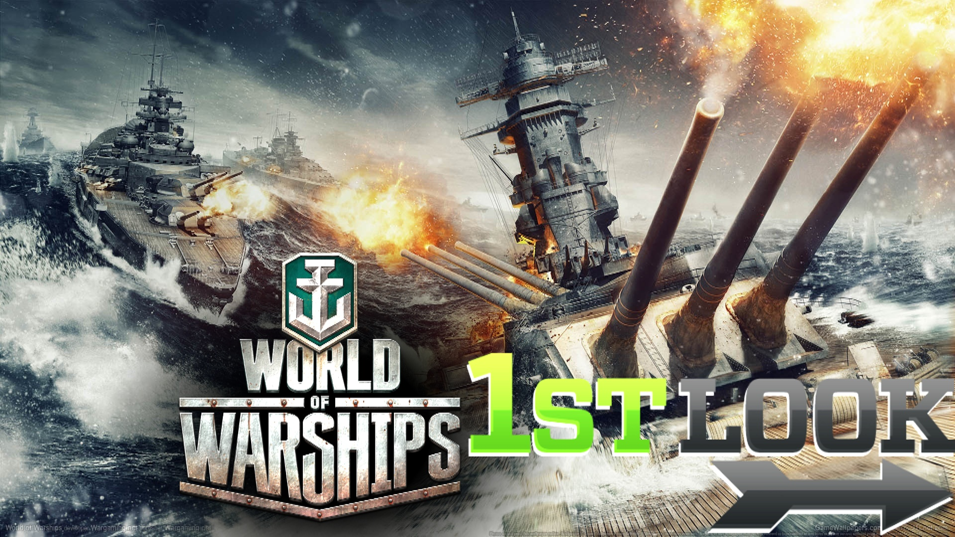 World of Warships - First Look Video Thumbnail