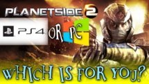 PlanetSide 2 - PC or PS4 - Which is For You? PS2 PS4 or PC