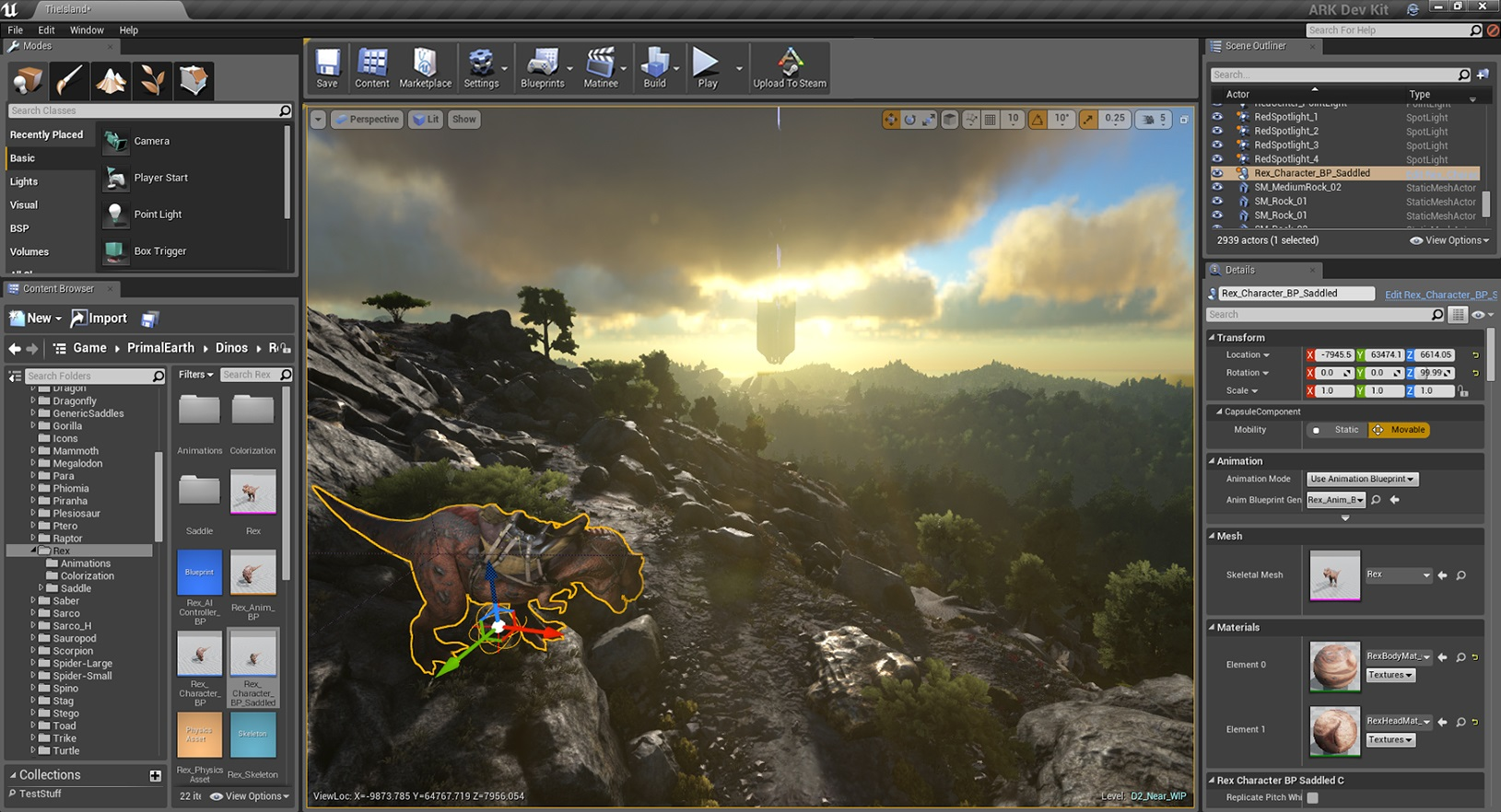 ARK: Survival Evolved Now Open to Unreal Engine 4 Modding ...