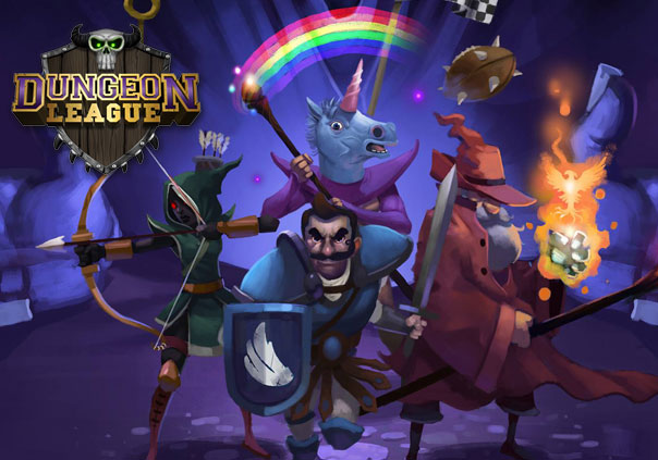 DungeonLeague Game Banner