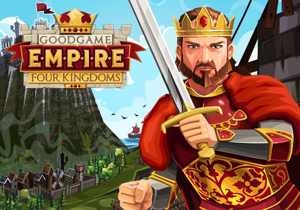 EmpireFourKingdoms Game Banner