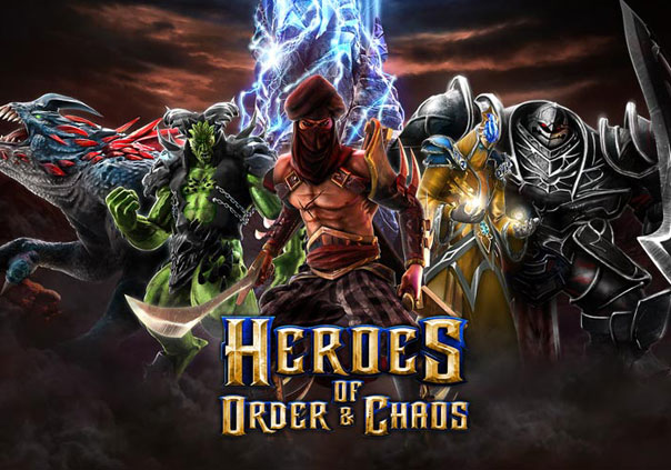 Heroes of Order & Chaos Game Profile Banner