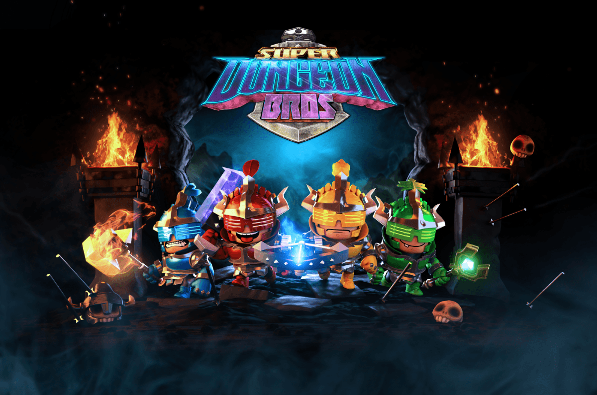 Super Dungeon Bros Confirms Worldwide Retail Release enws header