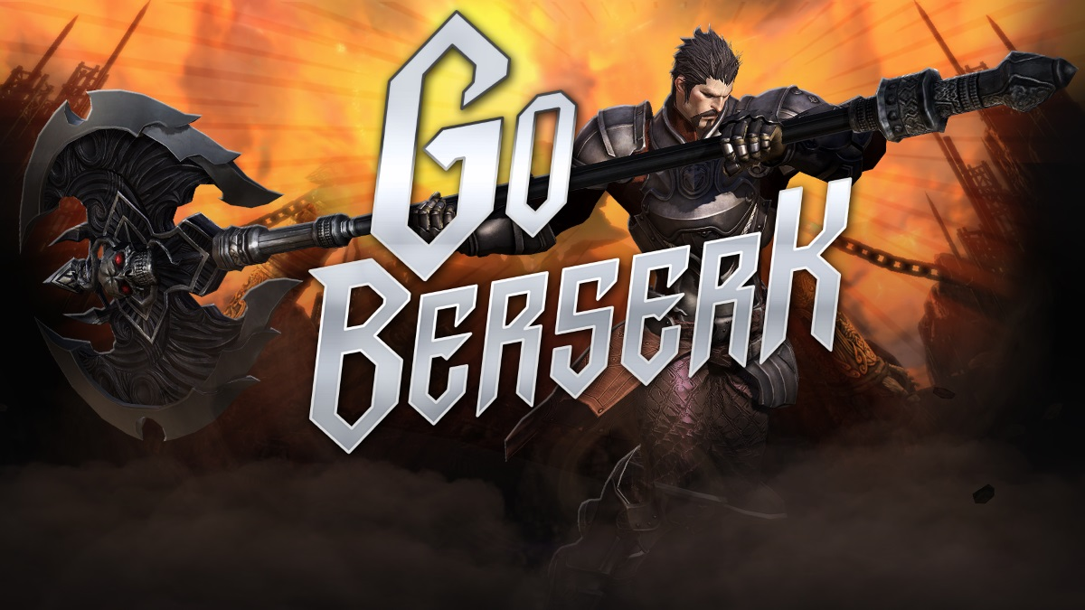 TERA Go Berserk Update Launches Today news header