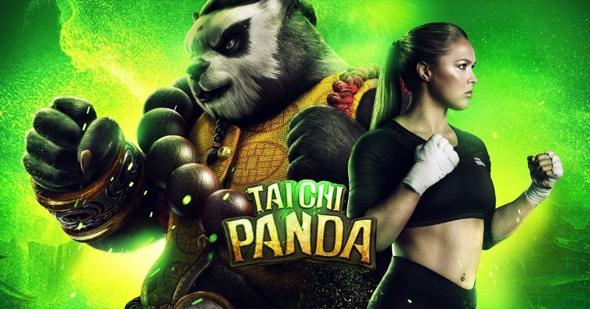 Ronda Rousey Named Taichi Panda Spokesperson news header