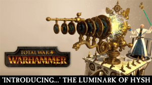 Total War: WARHAMMER - Introducing The Luminark of Hysh video thumbnail