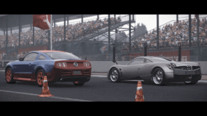 World of Speed Dream Drive: Pagani Huayra / Ford Mustang GT video thumbnail