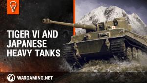 World of Tanks - Tiger VI And Japanese Heavy Tanks video thumbnail