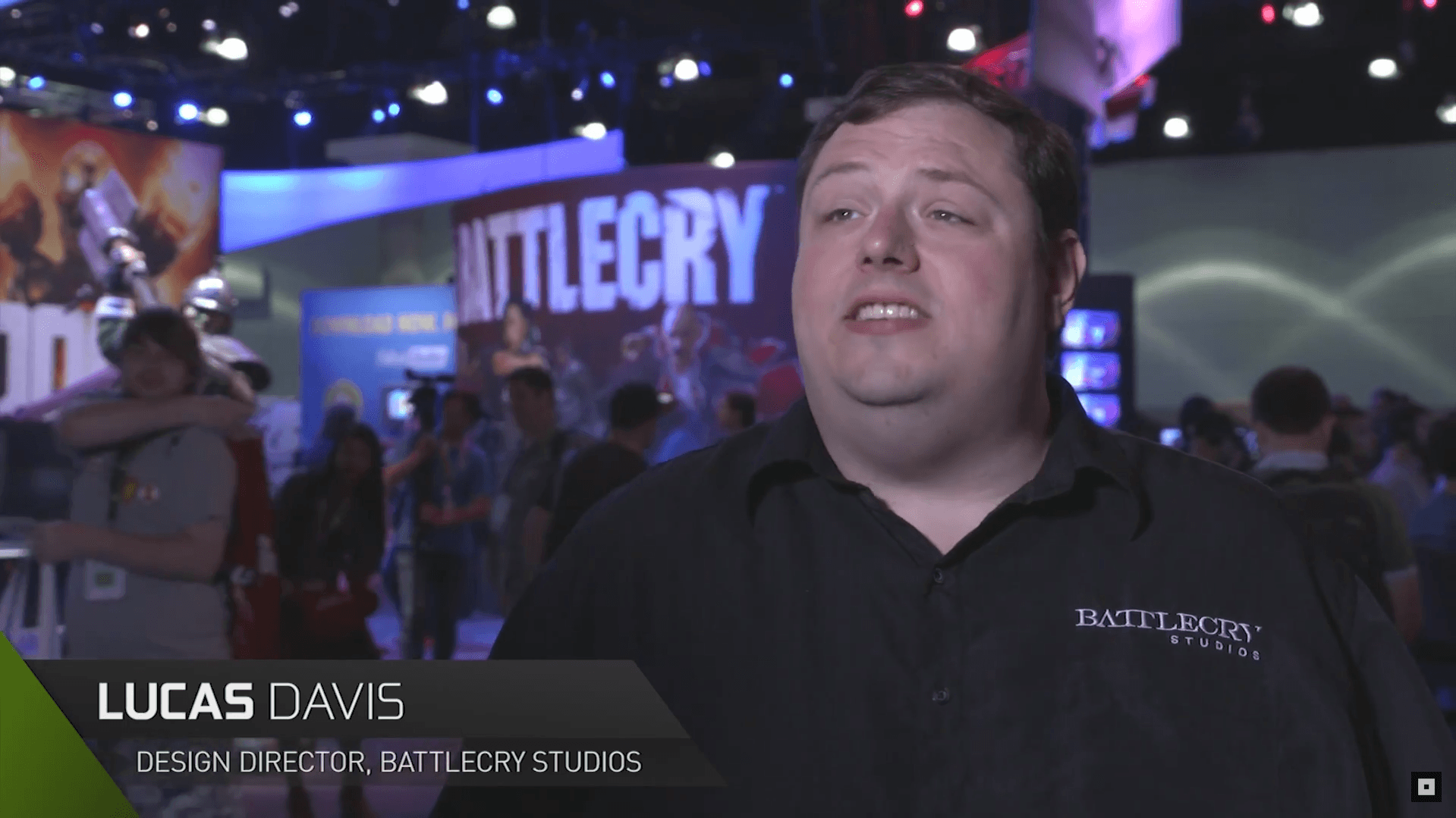 Battlecry talks to Nvidia at E3 2015 video thumbnail