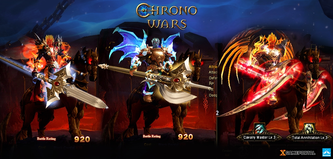 Chrono Wars Introduces Cavalry and Wedding System news header