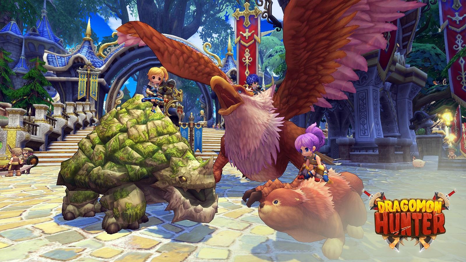 Aeria Games Announces Dragomon Hunter