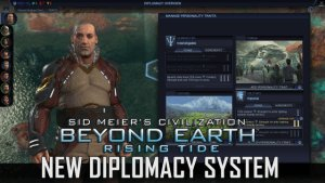 Beyond Earth - Rising Tide Diplomacy Overview video thumbnail