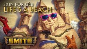 "SMITE ""Life's a Beach"" Geb Skin Preview video thumbnail"