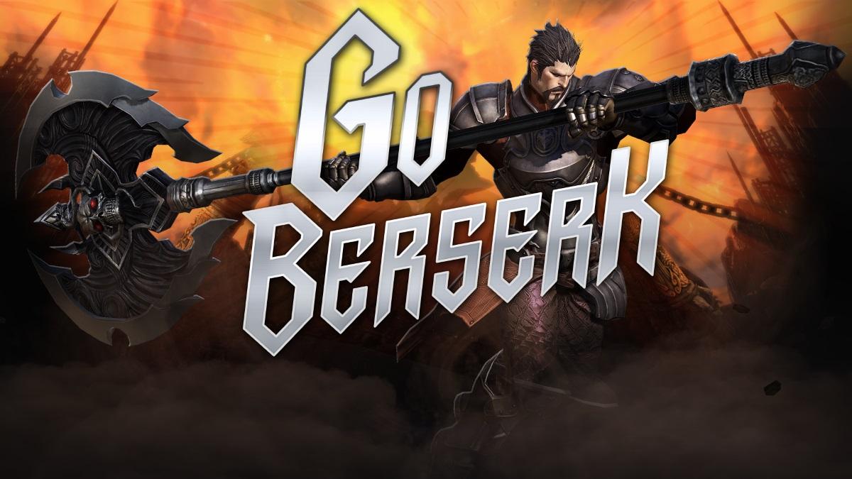 TERA Go Berserk Update Launches Today news header
