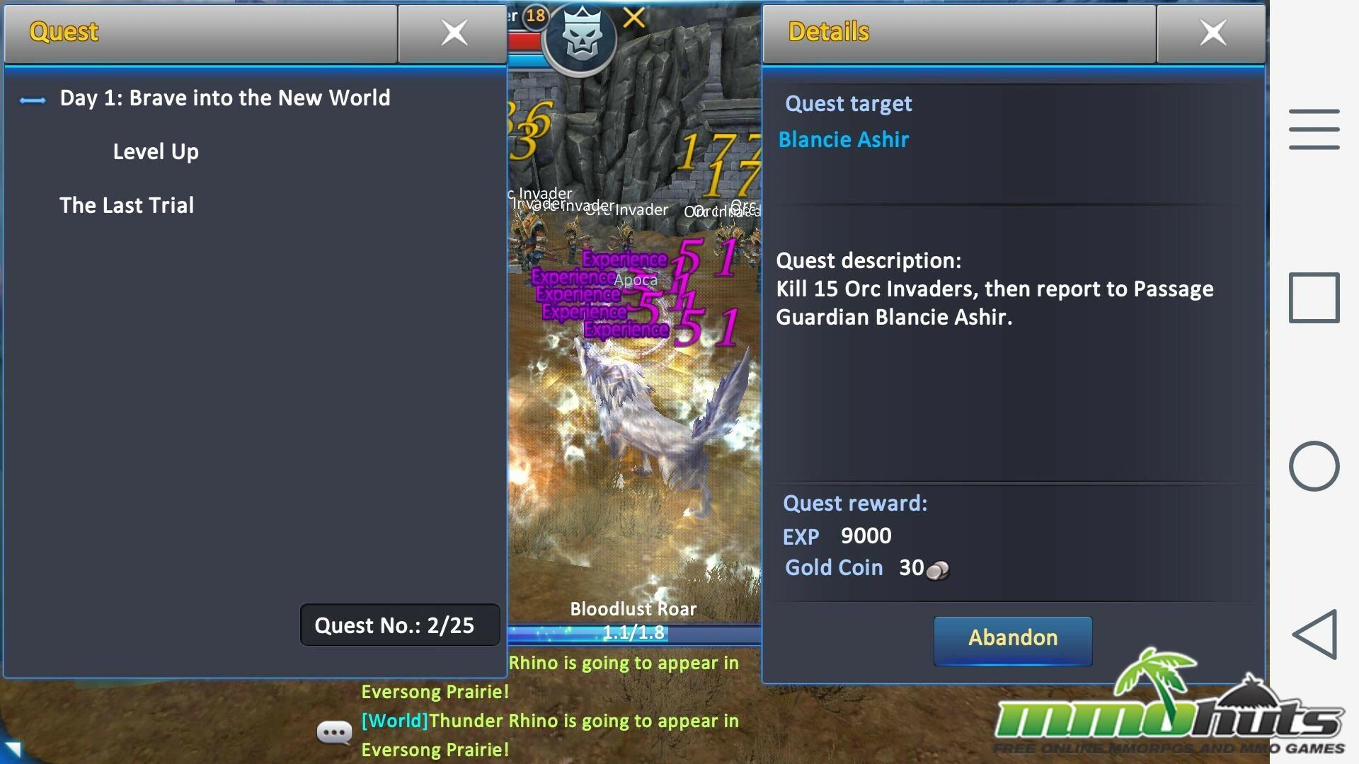 Forsaken World Mobile Review