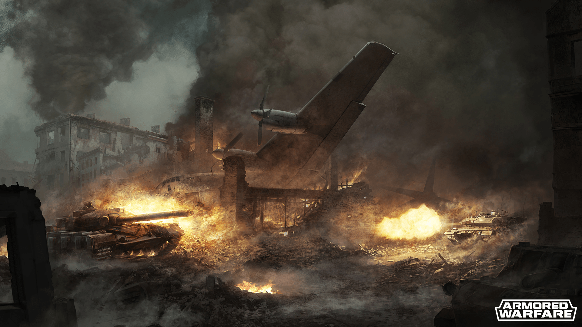 Armored Warfare World on Fire Backstory Teased news header