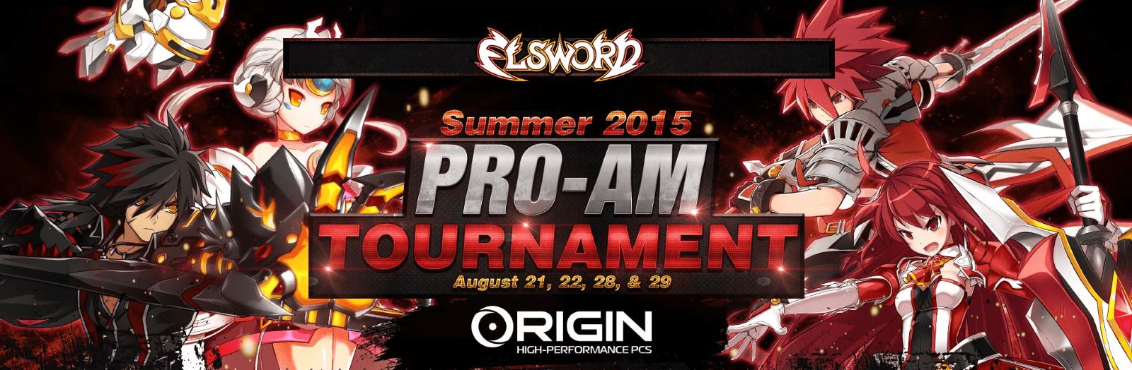 Elsword Summer Pro Am Kicks Off news header
