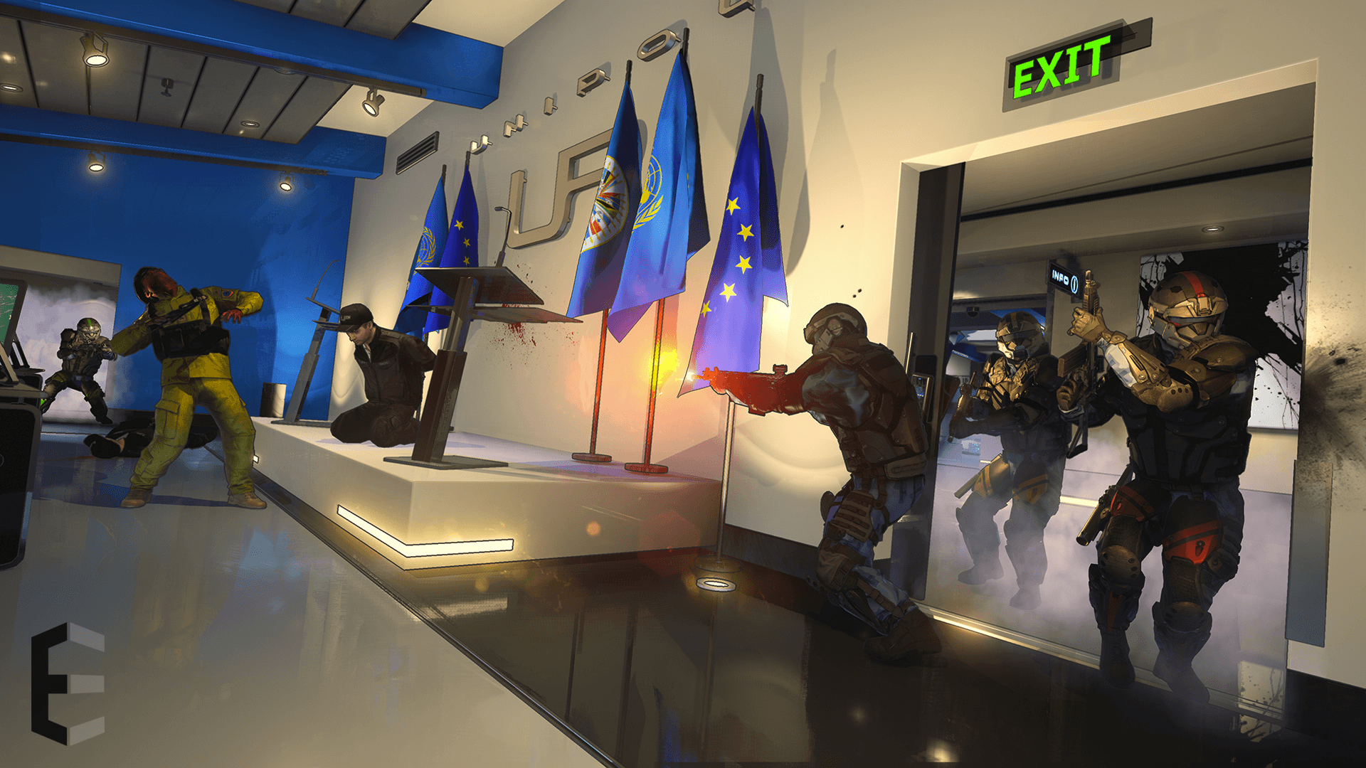 Serellan Announces Squad-Based Shooter Epsilon news header