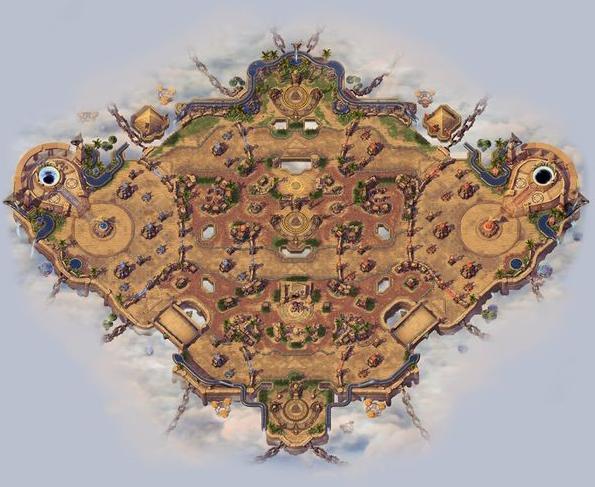 HotS BattleGrounds List Sky Temple