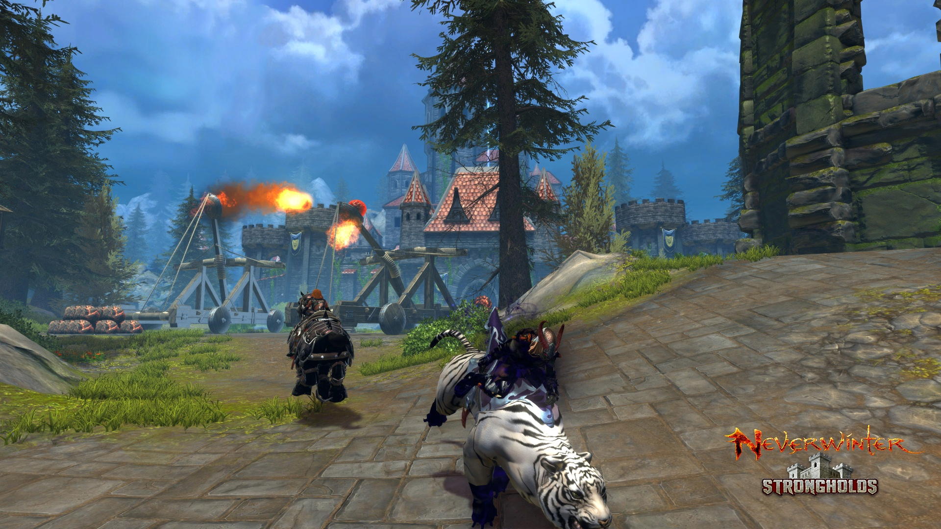 Neverwinter: Strongholds Available Now news header
