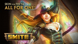 SMITE: All for One Freya Skin Preview video thumbnail