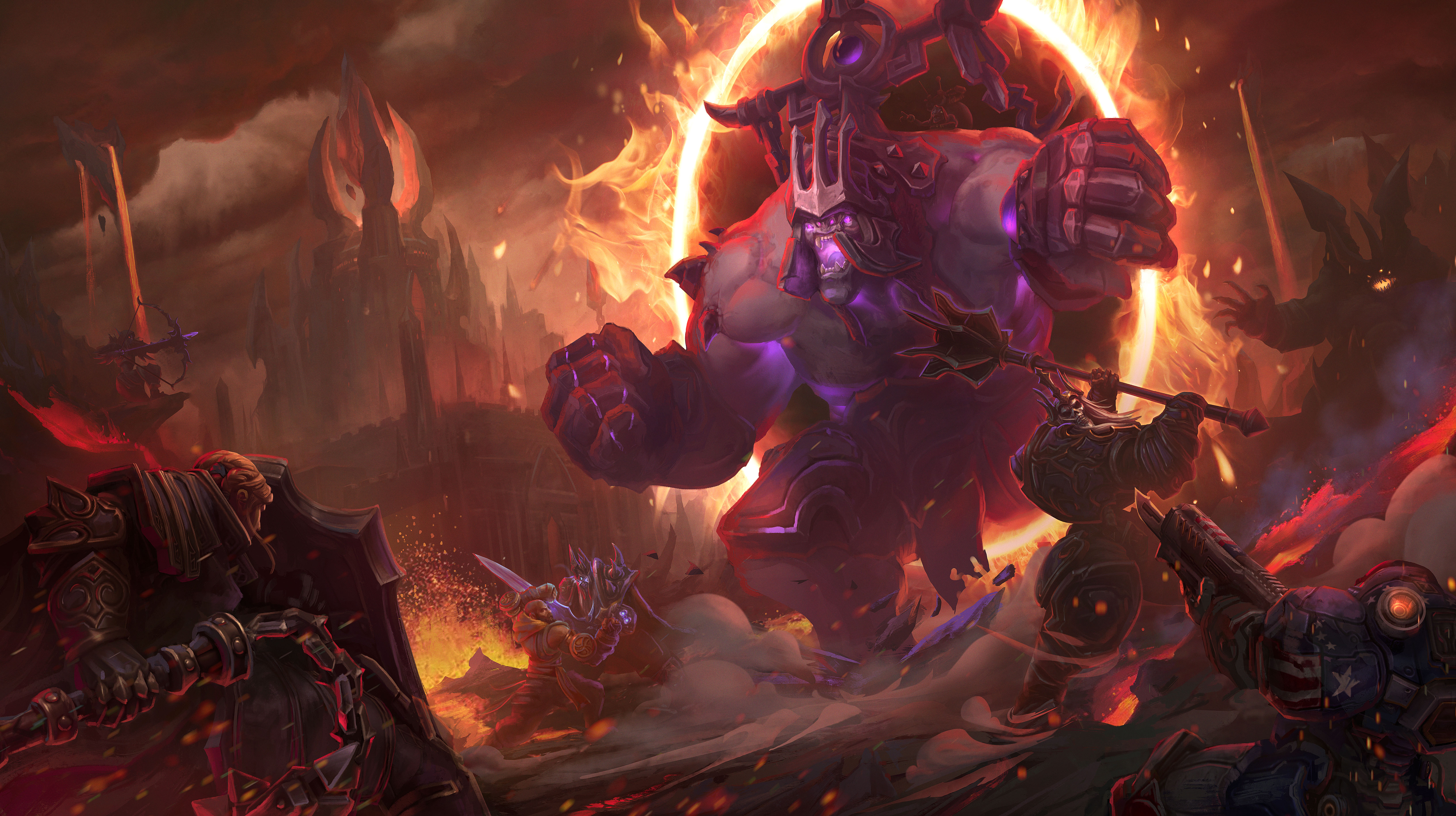 New Content Revealed for Blizzard Games at Gamescom 2015 news header