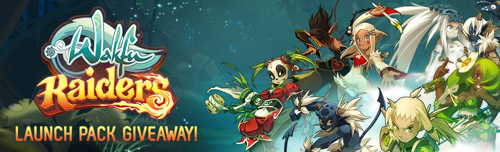 Wakfu Raiders Homepage Giveaway