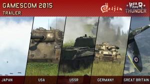 War Thunder: GamesCom 2015 Trailer thumbnail