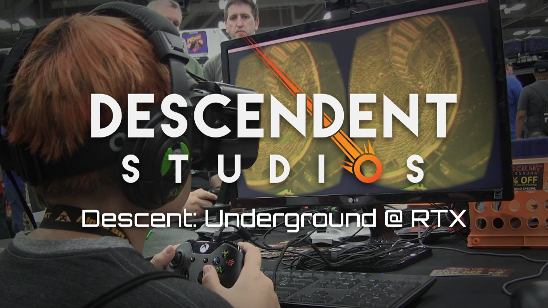 Descent: Underground @ RTX 2015 video thumbnail