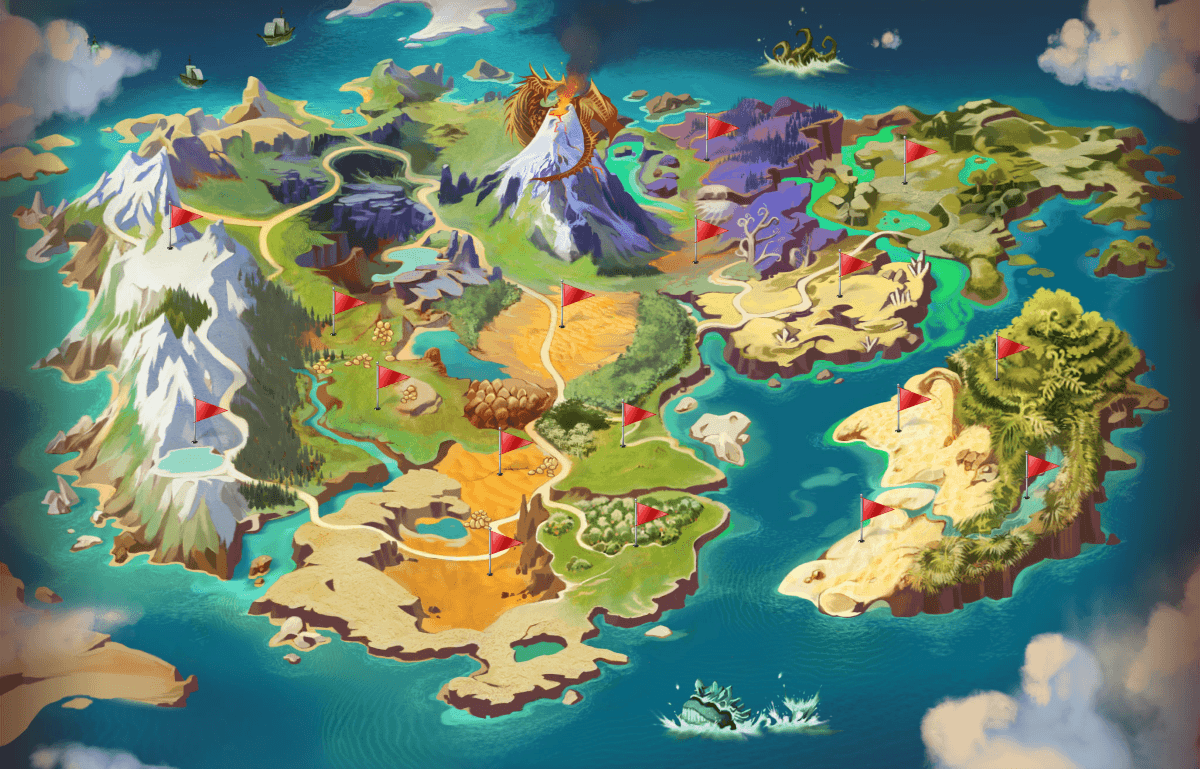 Dragomon hunter unveils its complete world map mmohuts dragomon hunter unveils its complete world map gumiabroncs Choice Image