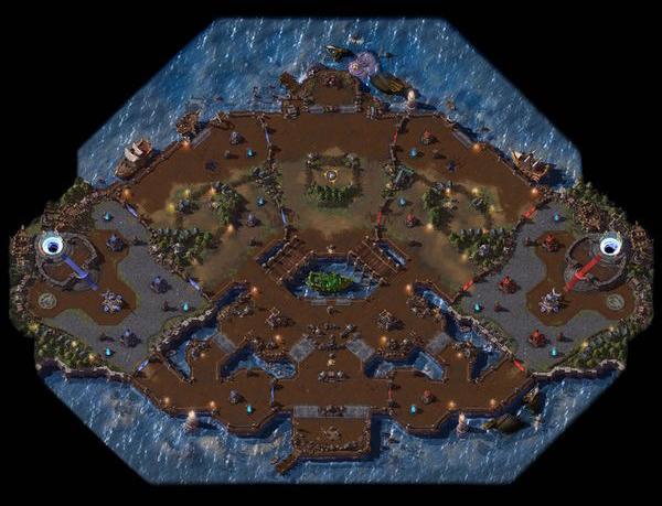 HotS BattleGrounds List Blackheart's Bay