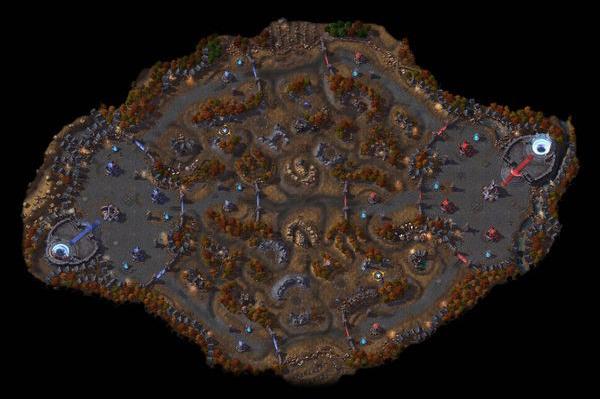 HotS BattleGrounds List Cursed Hollows