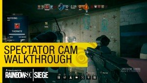 Tom Clancy's Rainbow Six Siege Spectator Cam Walkthrough video thumbnail