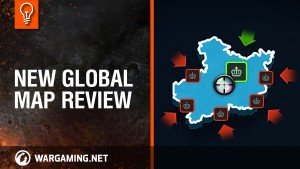 World of Tanks Clan Wars New Global Map Review video thumb
