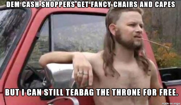 ArcheAge Teabag Throne Meme