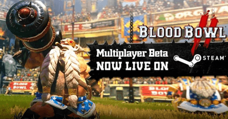 Blood Bowl 2: Beta launched news header