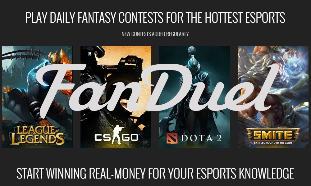 FanDuel Announces Acquisition of Leading eSports Platform, AlphaDraft news header