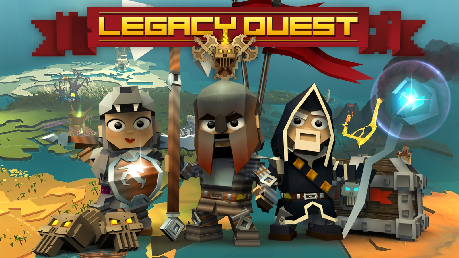 Nexon Soft-Launches Legacy Quest on Android in Select Markets news header