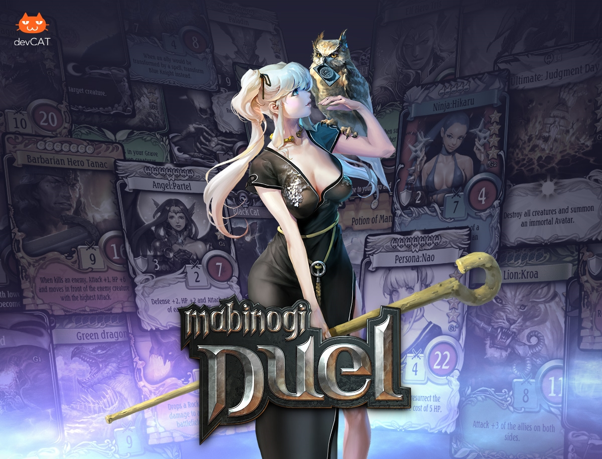 Mabinogi Duel Soft Launches in Select Territories news header